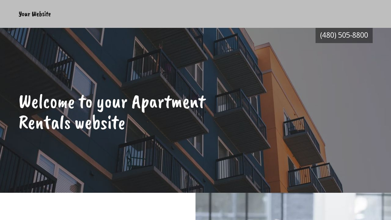 Apartment Rentals Website: Example 11