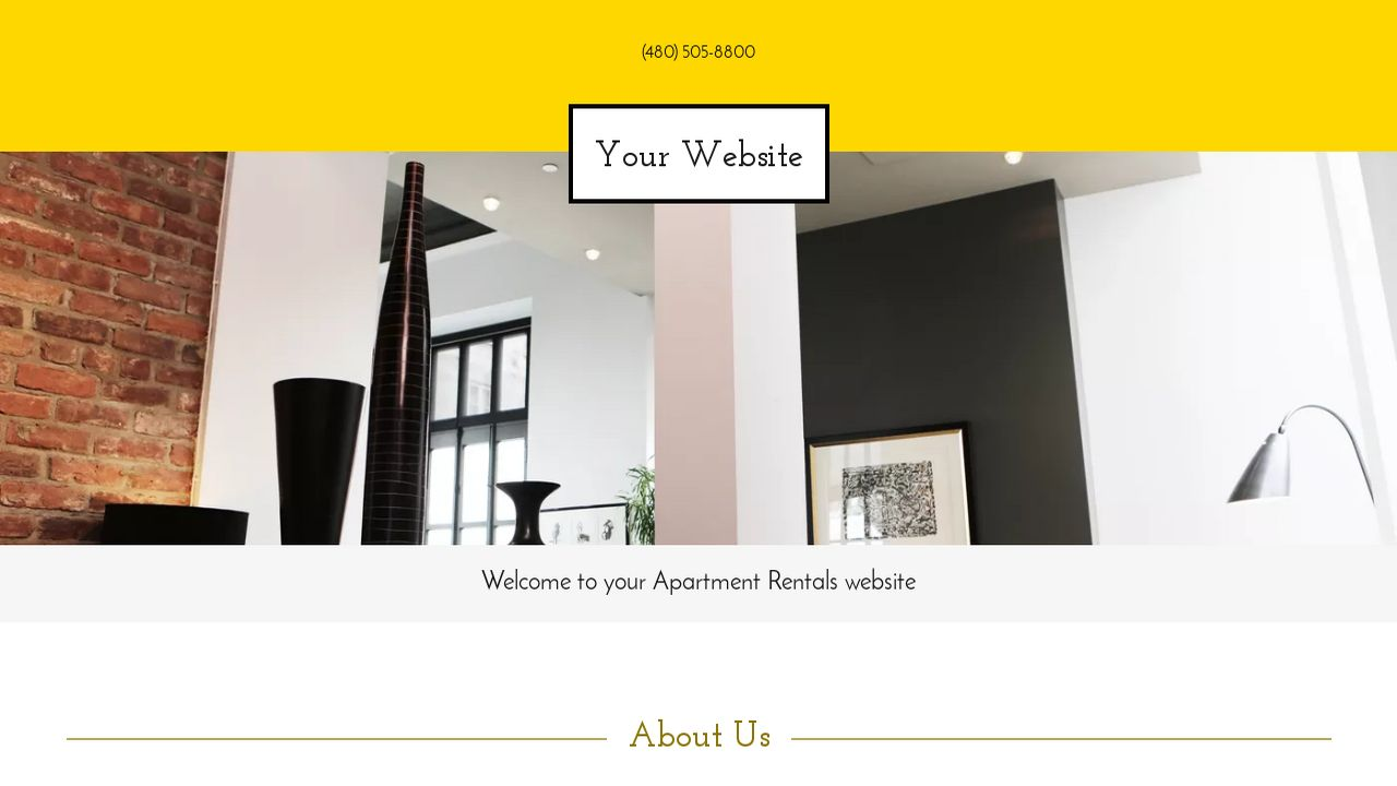 Apartment Rentals Website: Example 14