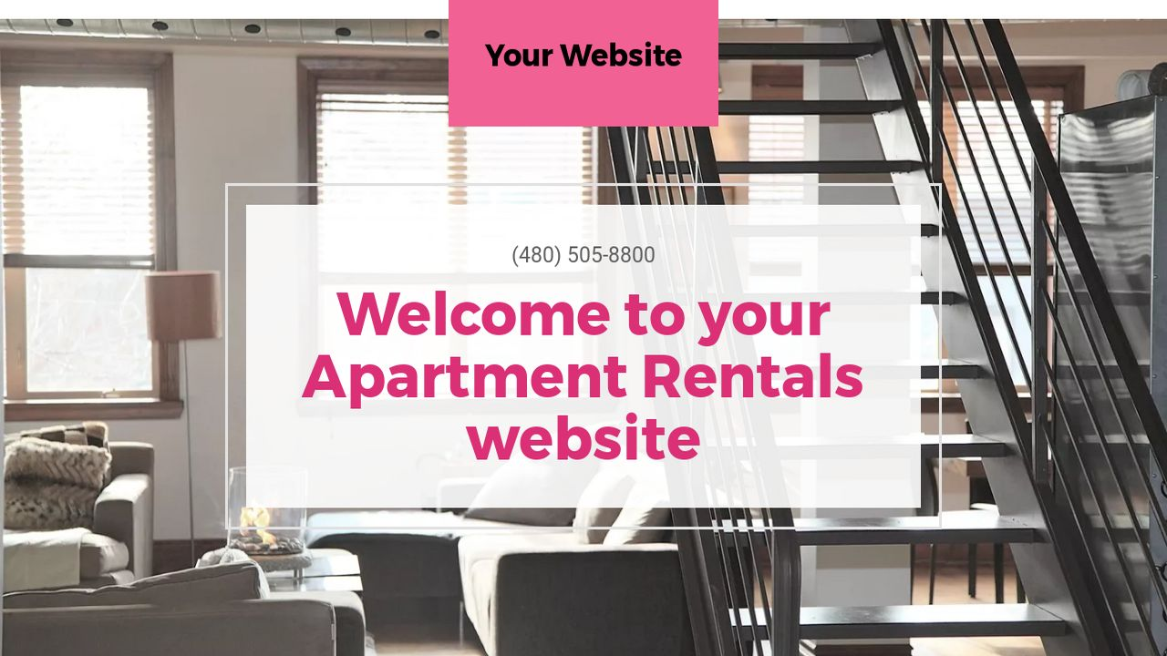 Apartment Rentals Website: Example 15
