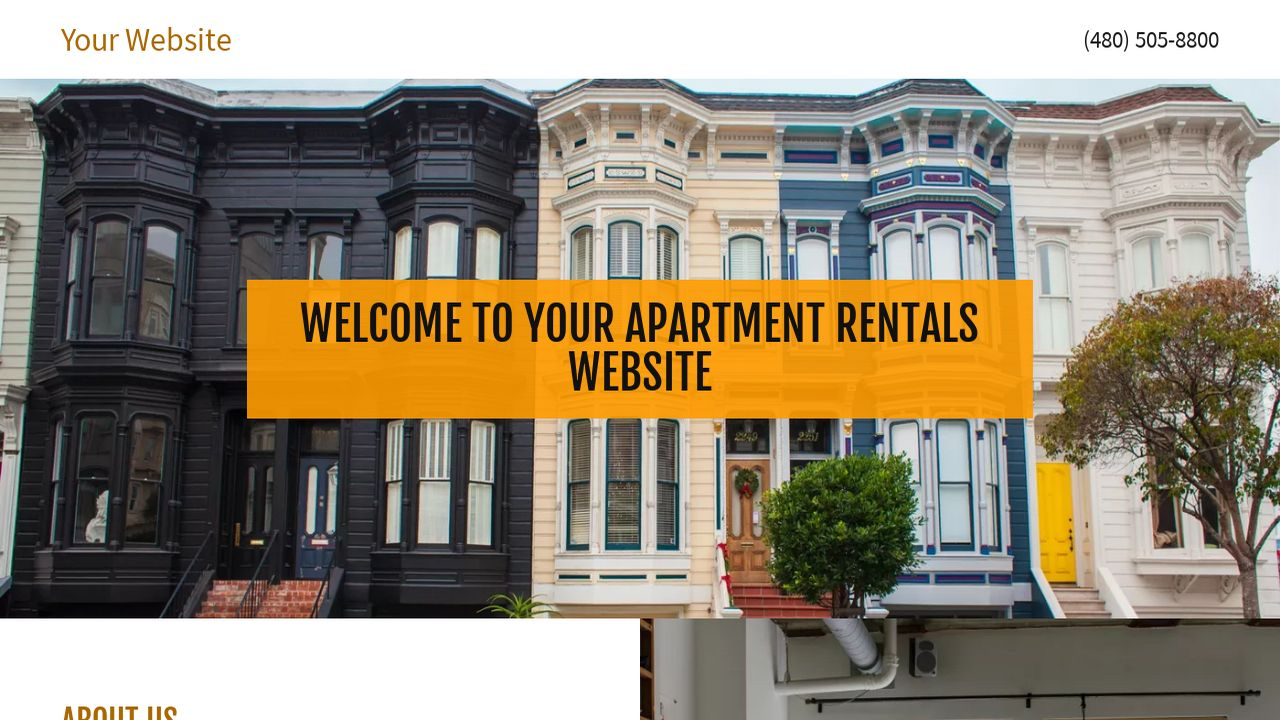 Apartment Rentals Website: Example 16