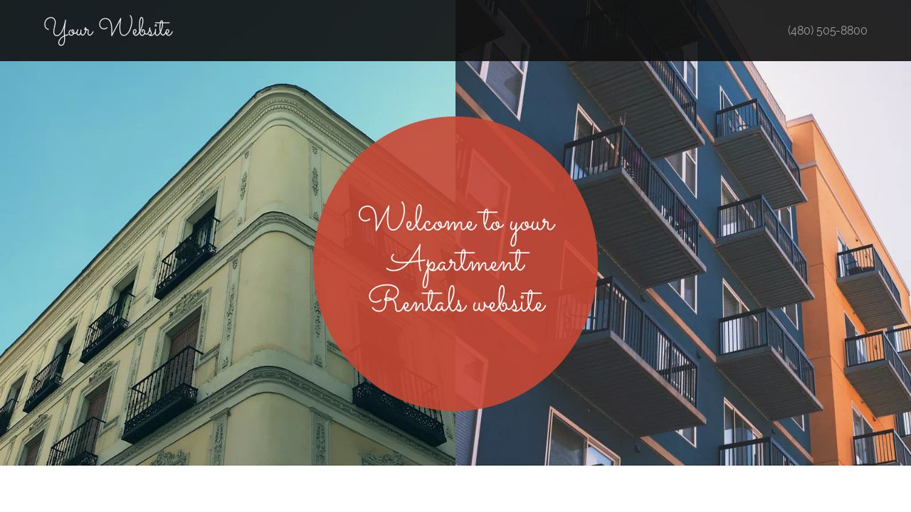 Apartment Rentals Website: Example 3
