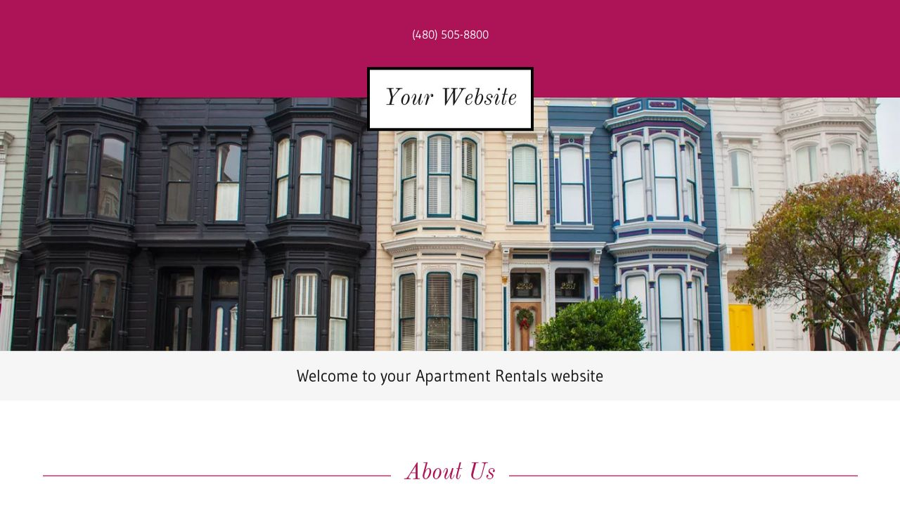 Apartment Rentals Website: Example 7