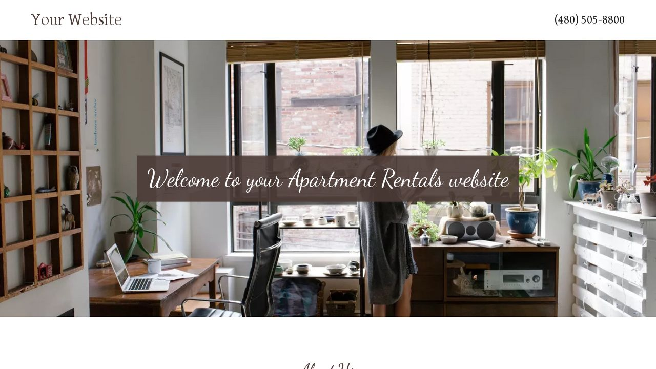 Apartment Rentals Website: Example 9