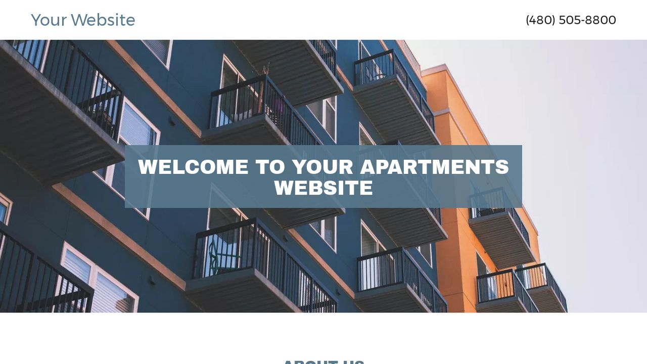 Apartments Website: Example 13