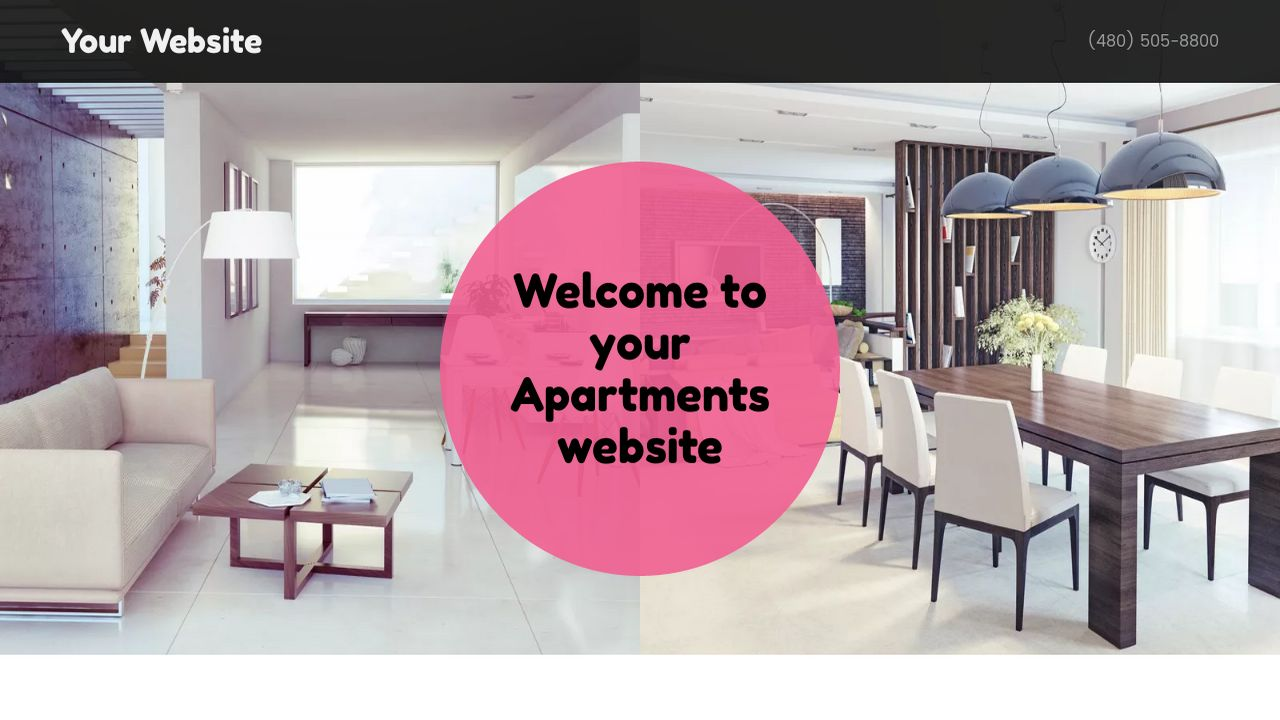 Apartments Website: Example 14
