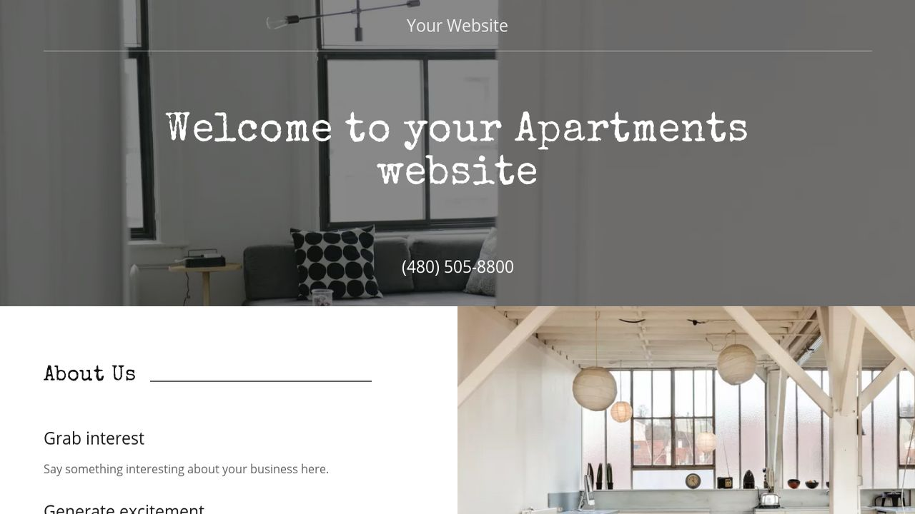 Apartments Website: Example 17