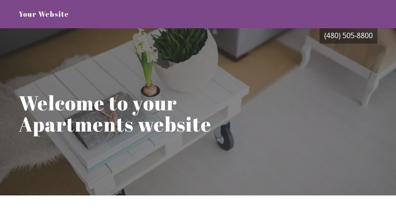 Apartments Website: Example 18