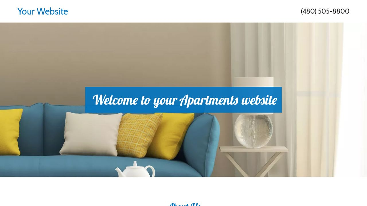 Apartments Website: Example 6