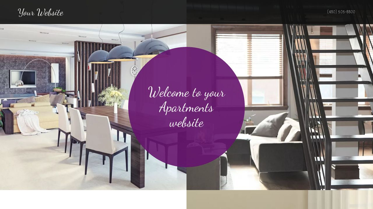 Apartments Website: Example 7
