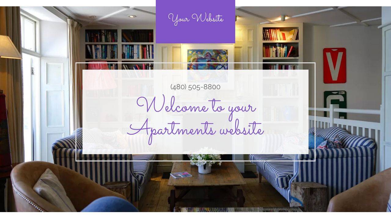 Apartments Website: Example 8