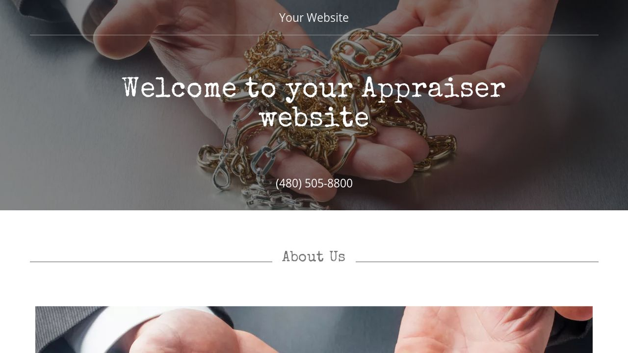 Appraiser Website: Example 1