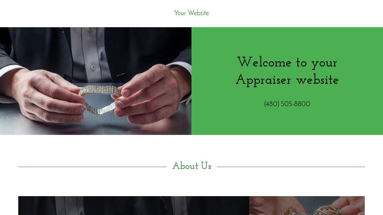 Appraiser Website: Example 5