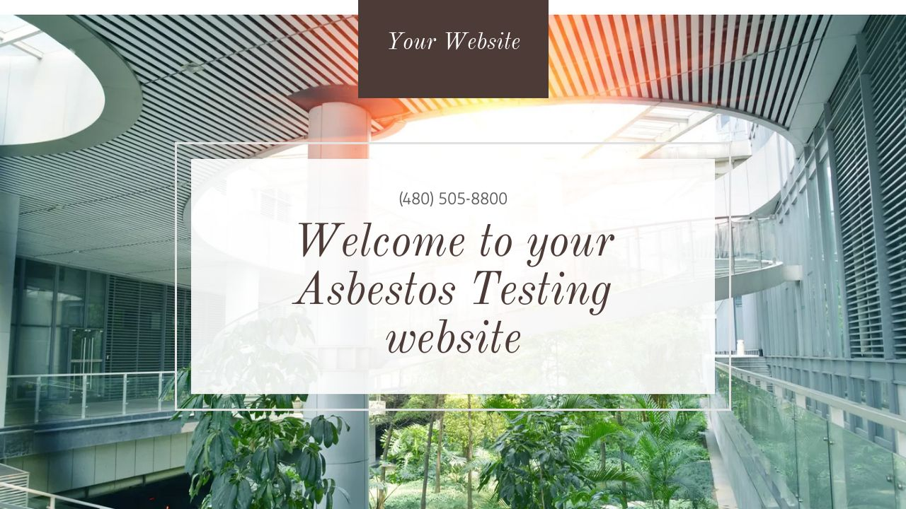 Asbestos Testing Website: Example 17
