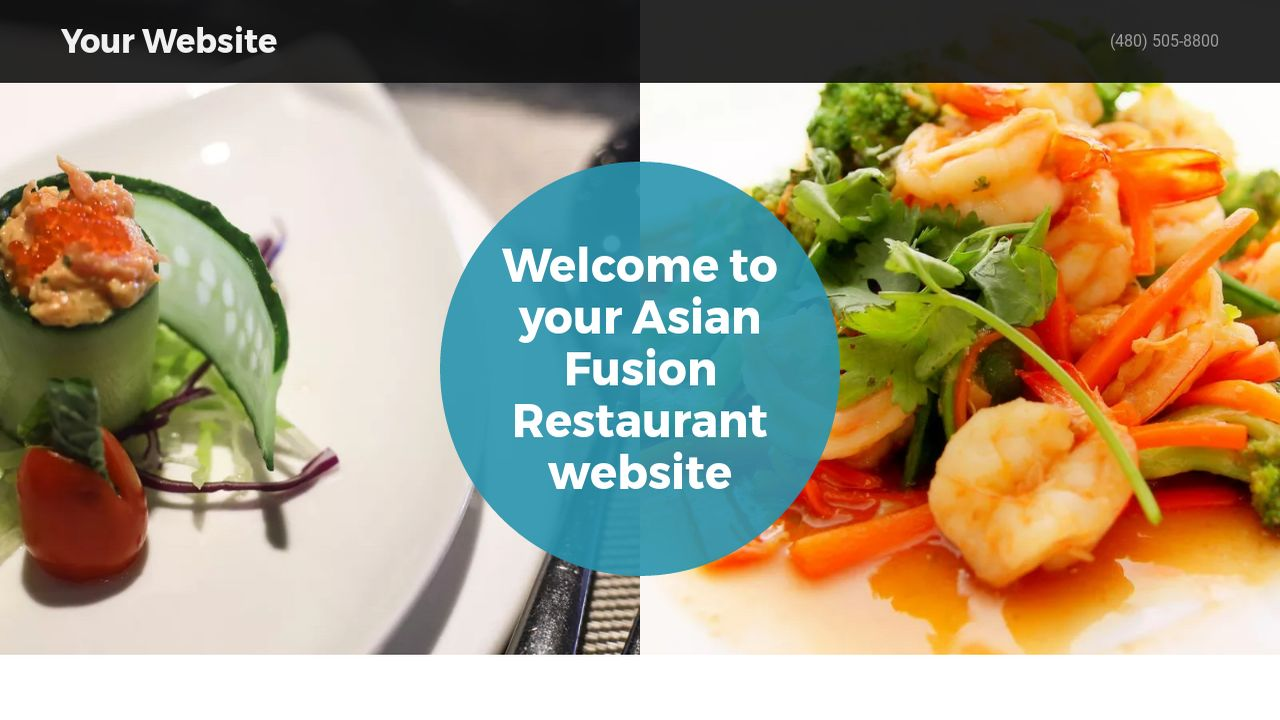 Example 13 asian fusion restaurant website template godaddy for Asian fusion cuisine restaurants