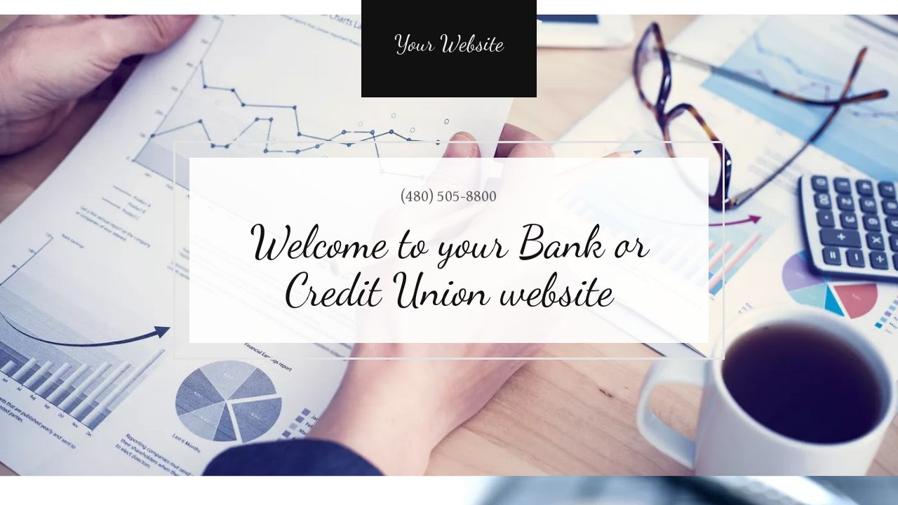Bank or Credit Union Website: Example 11