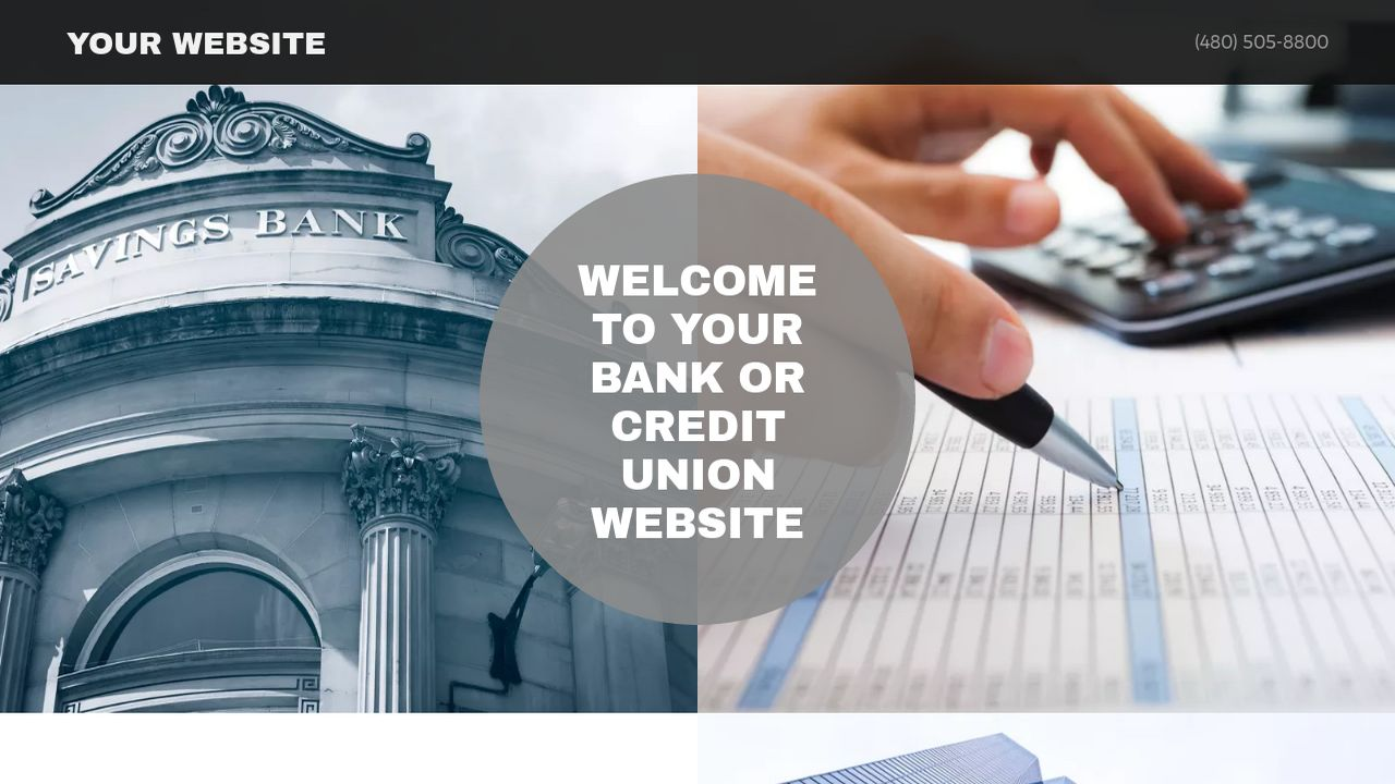 Bank or Credit Union Website: Example 16
