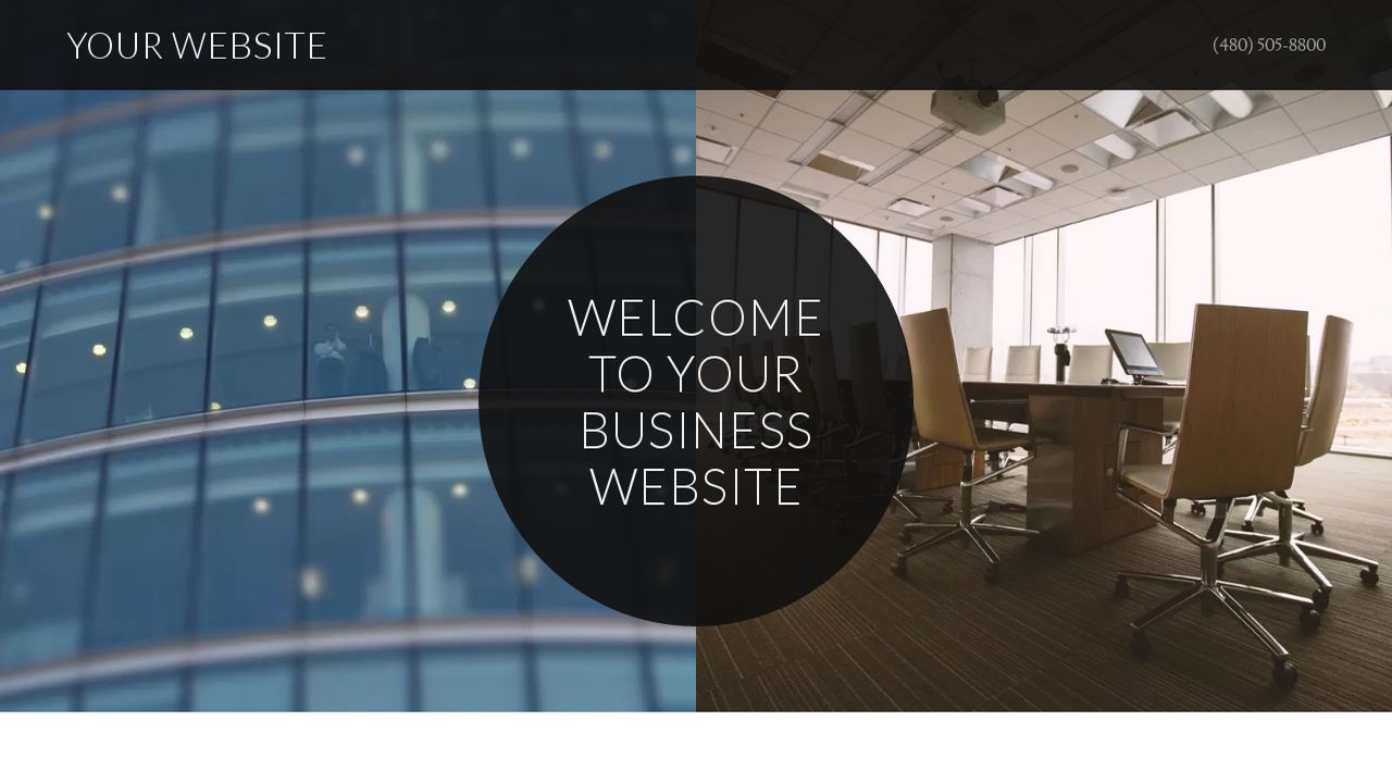 Business Website: Example 12