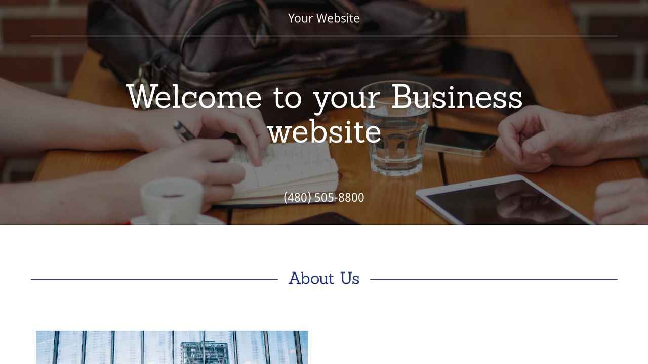 Business Website: Example 13