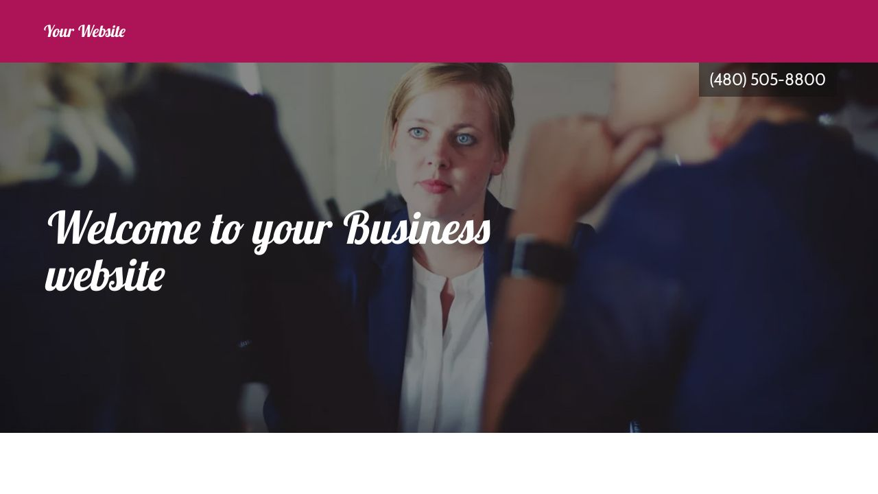Business Website: Example 14