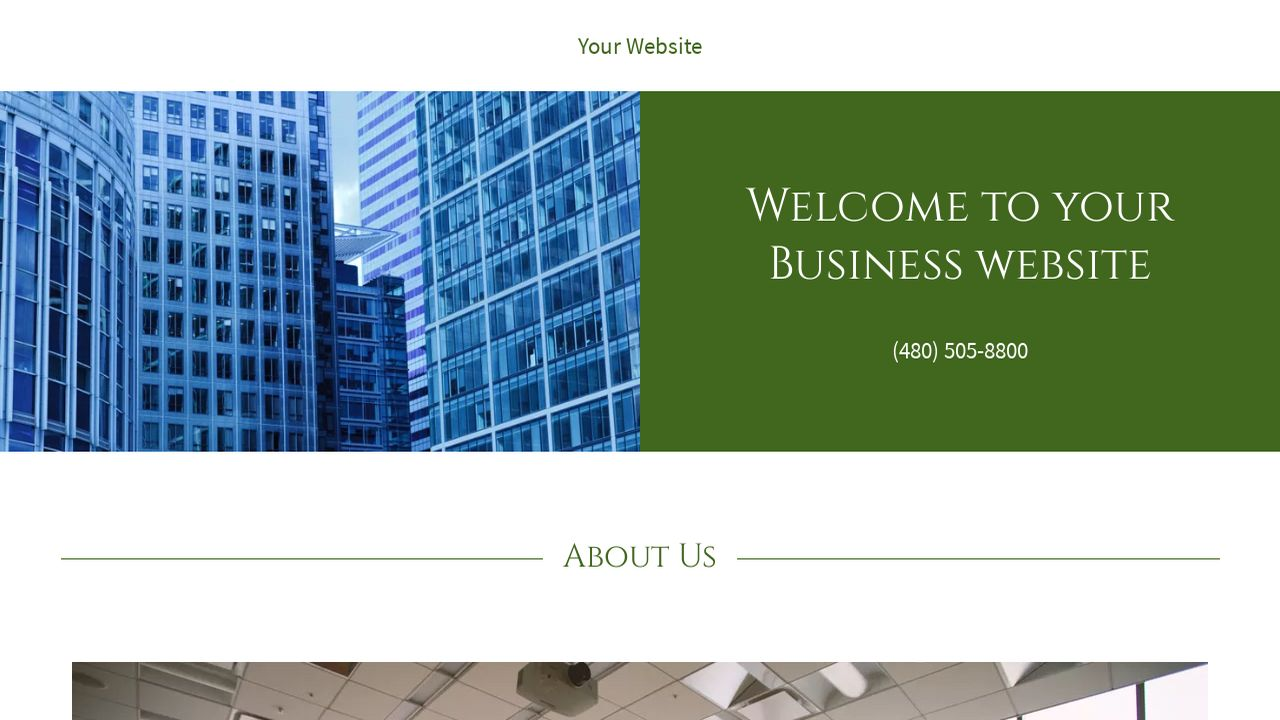 Business Website: Example 15