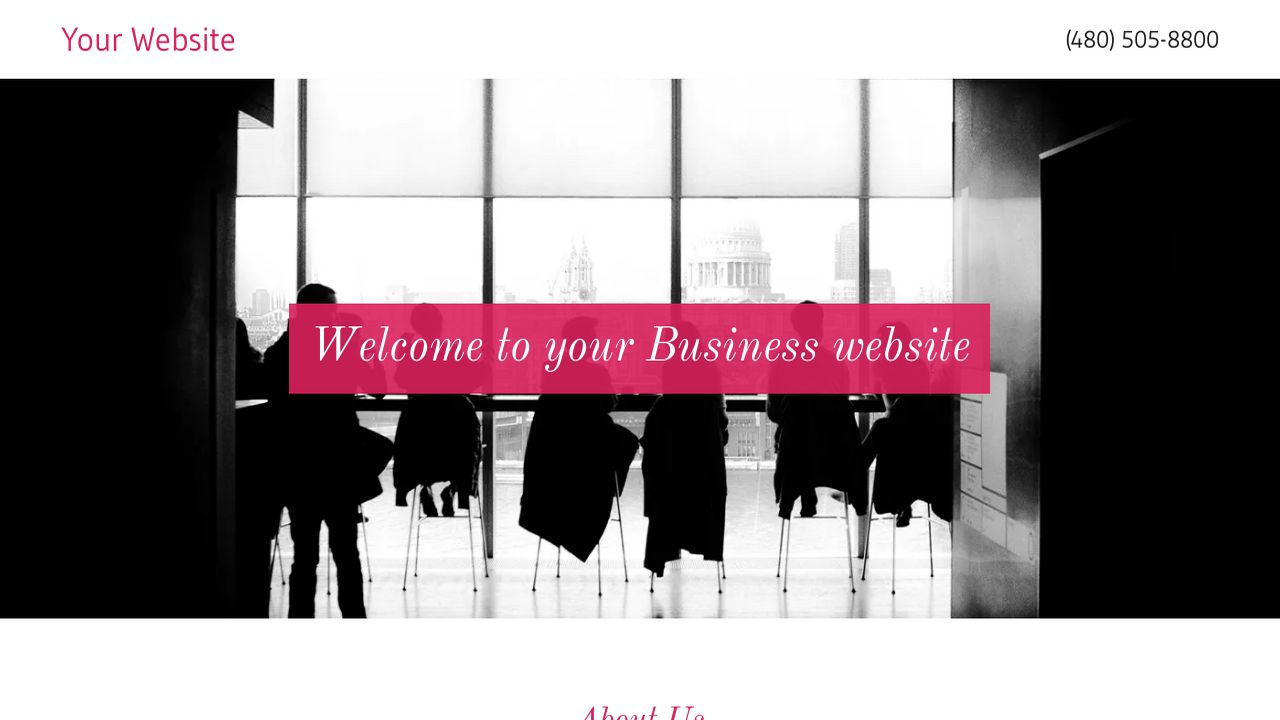 Business Website: Example 17