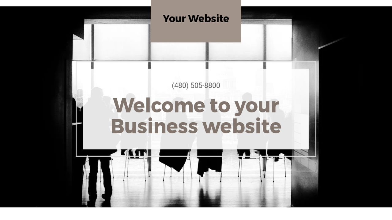 Business Website: Example 2