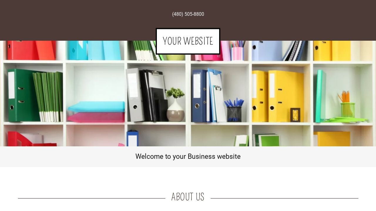 Business Website: Example 4