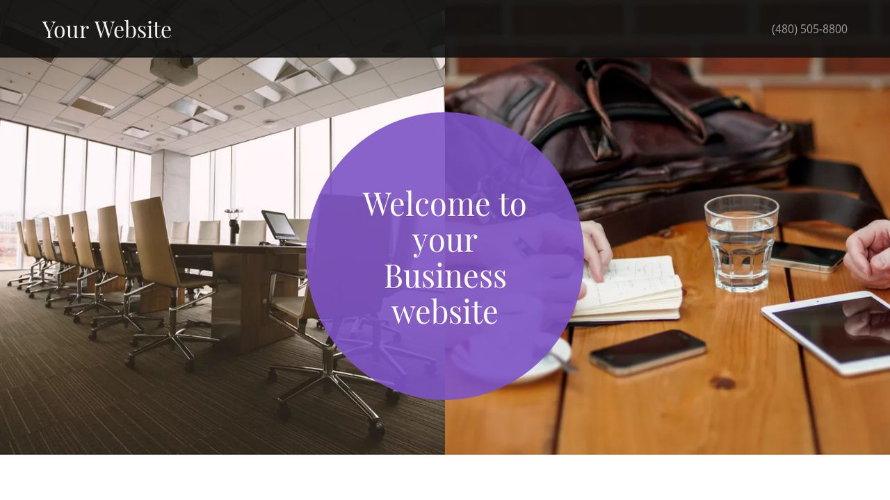 Business Website: Example 5