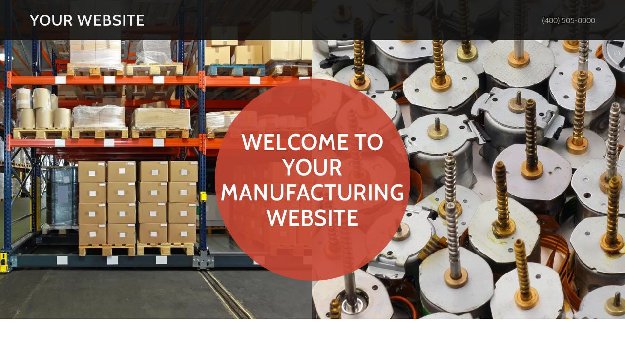 Manufacturing Website: Example 17