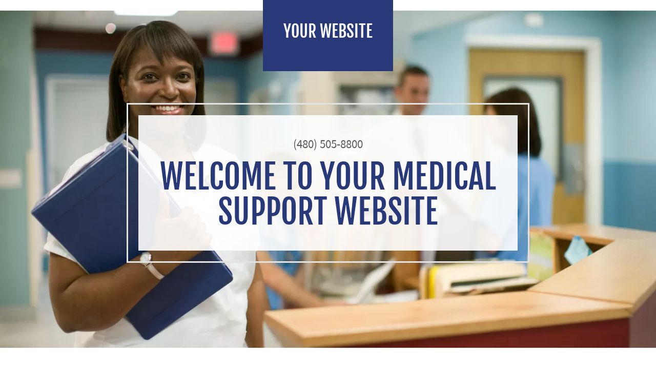 Medical Support Website: Example 12