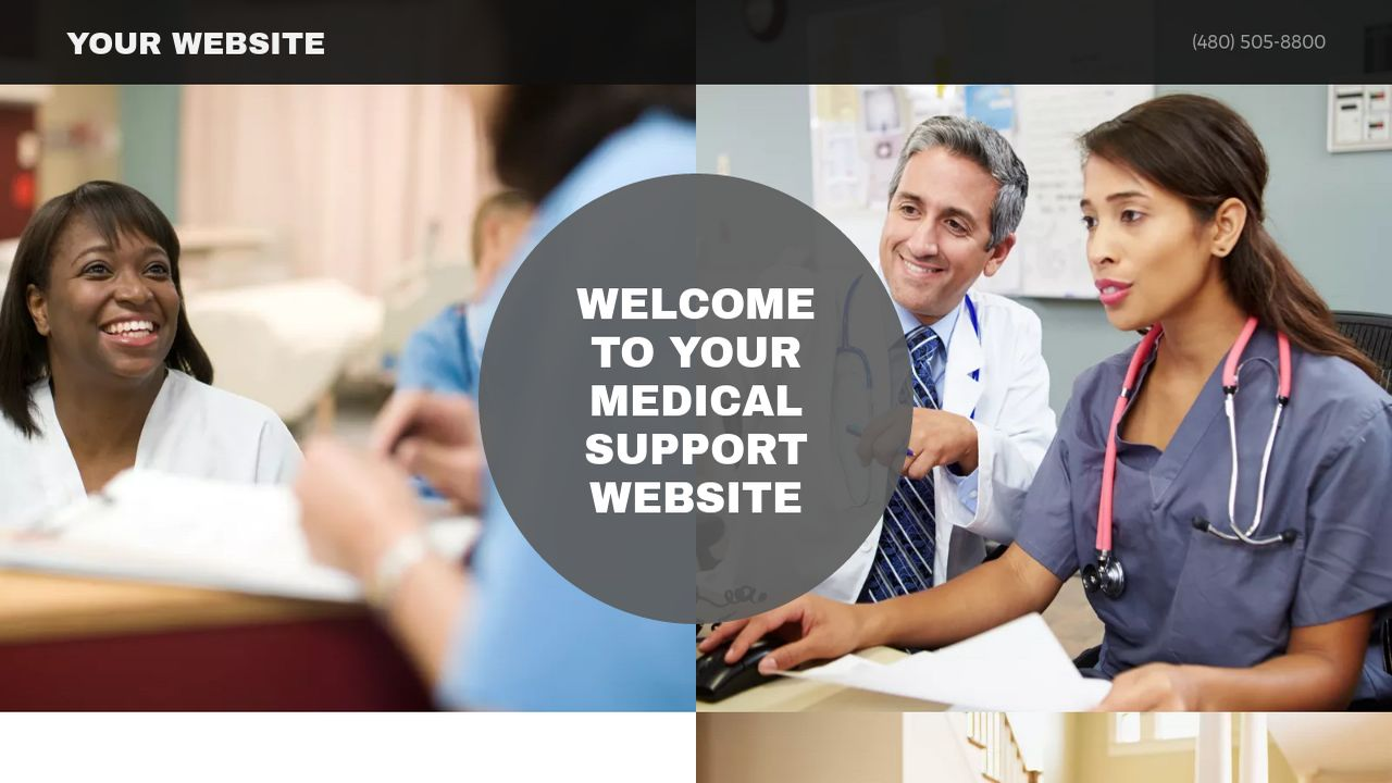 Medical Support Website: Example 14