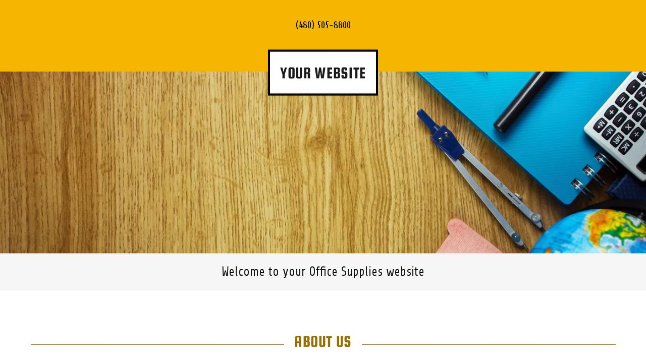Office Supplies Website: Example 4