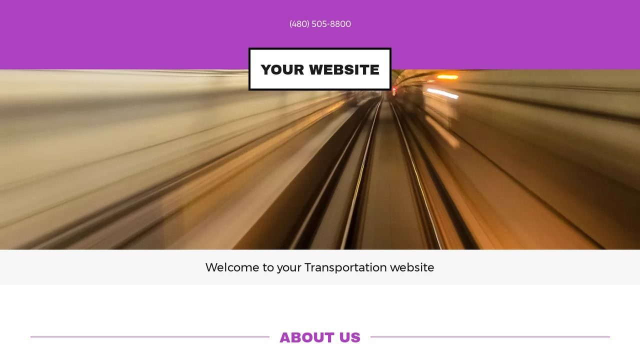 Transportation Website: Example 11