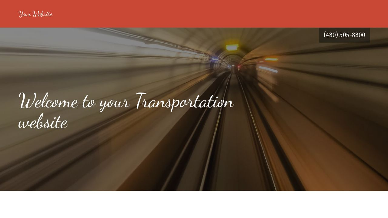 Transportation Website: Example 12