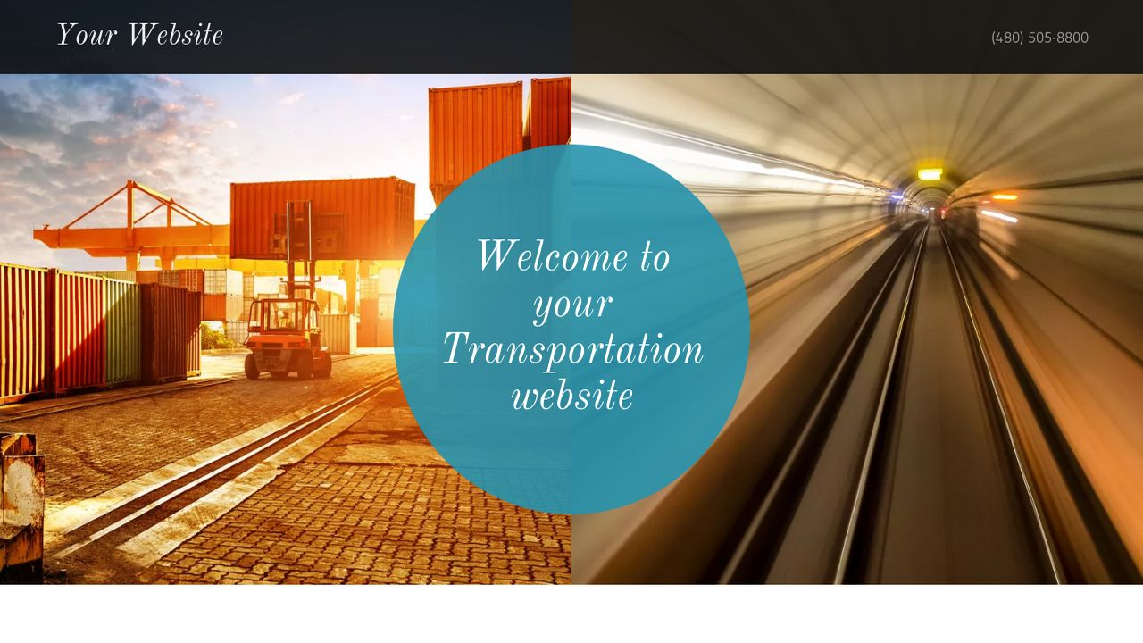 Transportation Website: Example 13