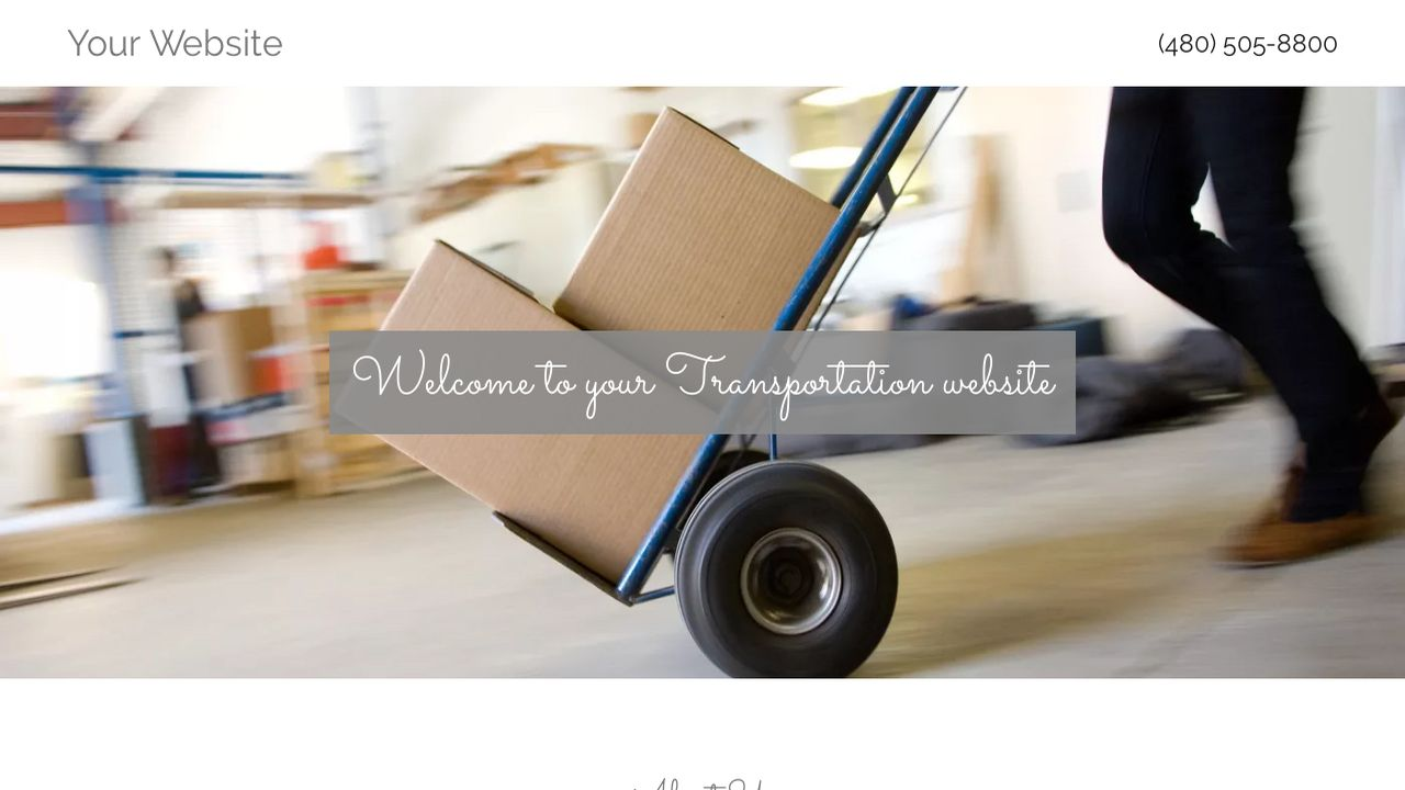 Transportation Website: Example 16