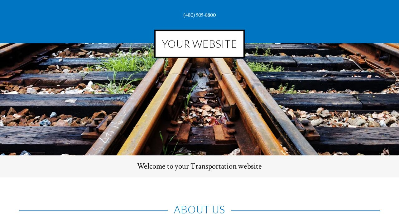 Transportation Website: Example 18
