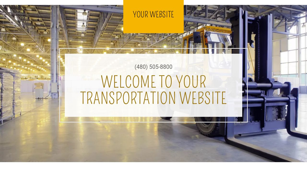Transportation Website: Example 3