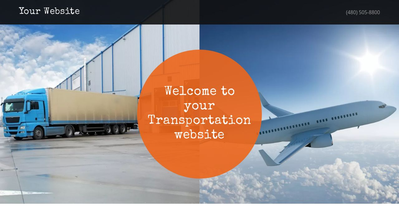 Transportation Website: Example 6