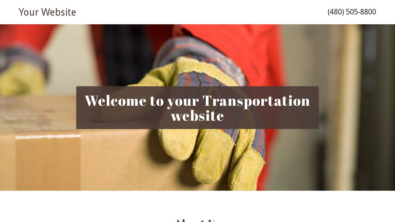 Transportation Website: Example 9