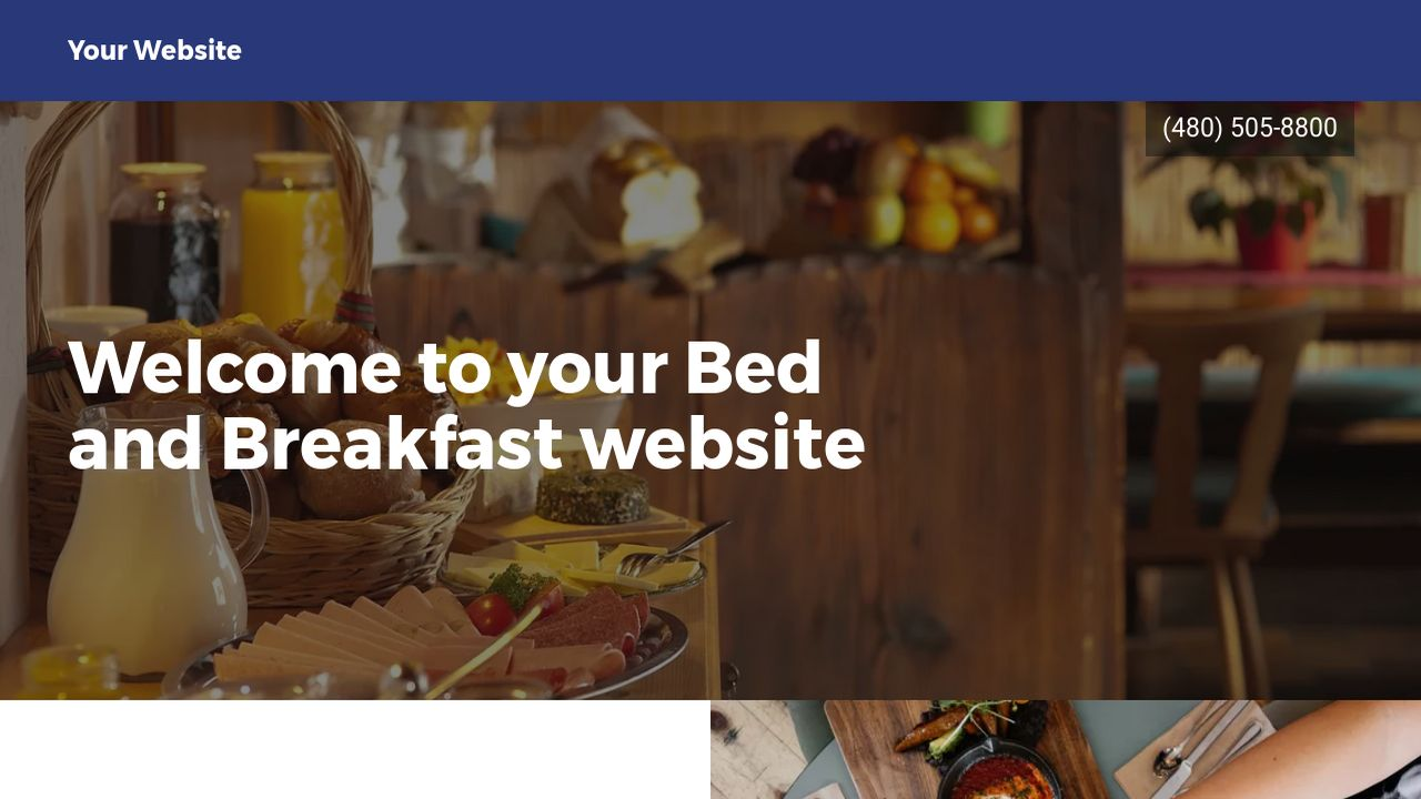 Bed and Breakfast Website Templates | GoDaddy