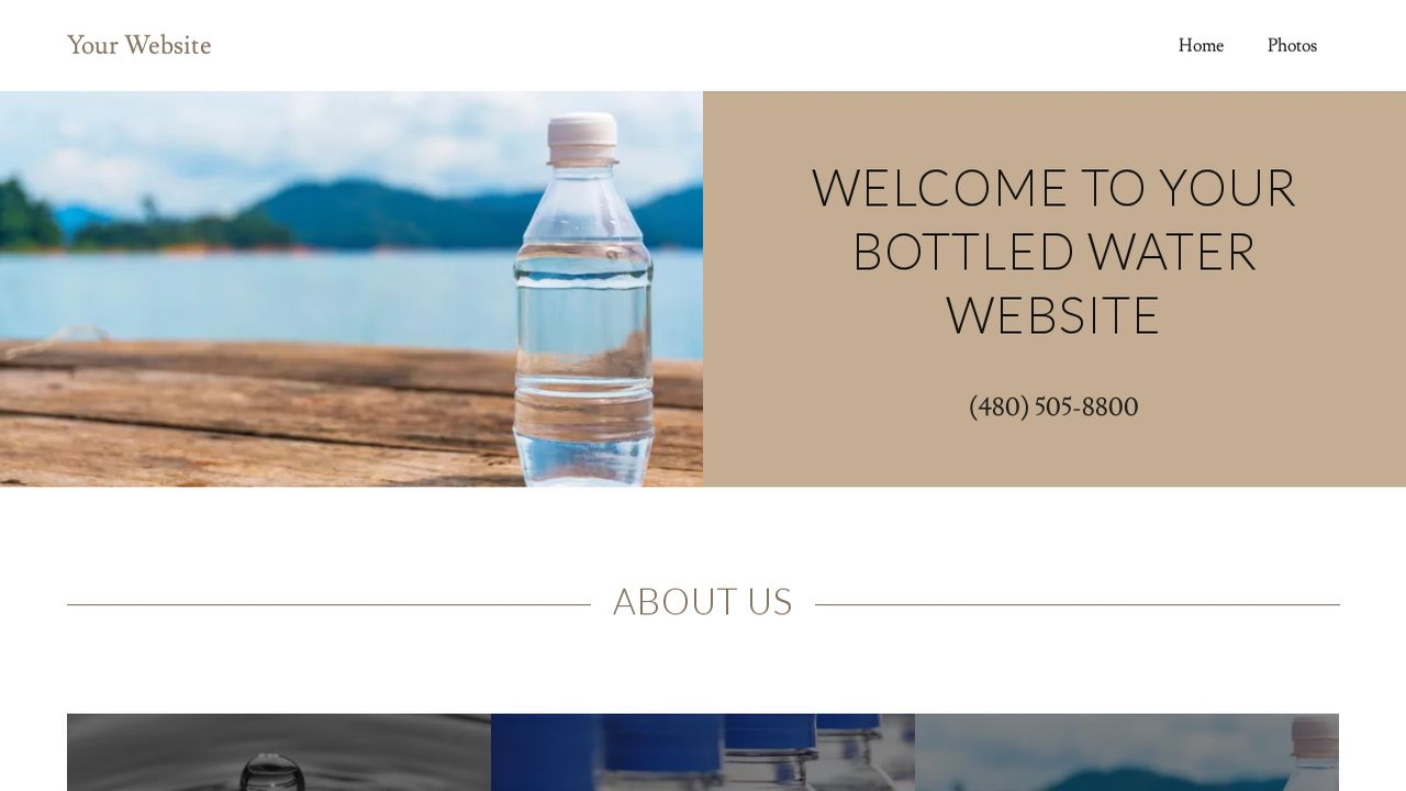mineral water label template - attractive water bottle templates pictures example