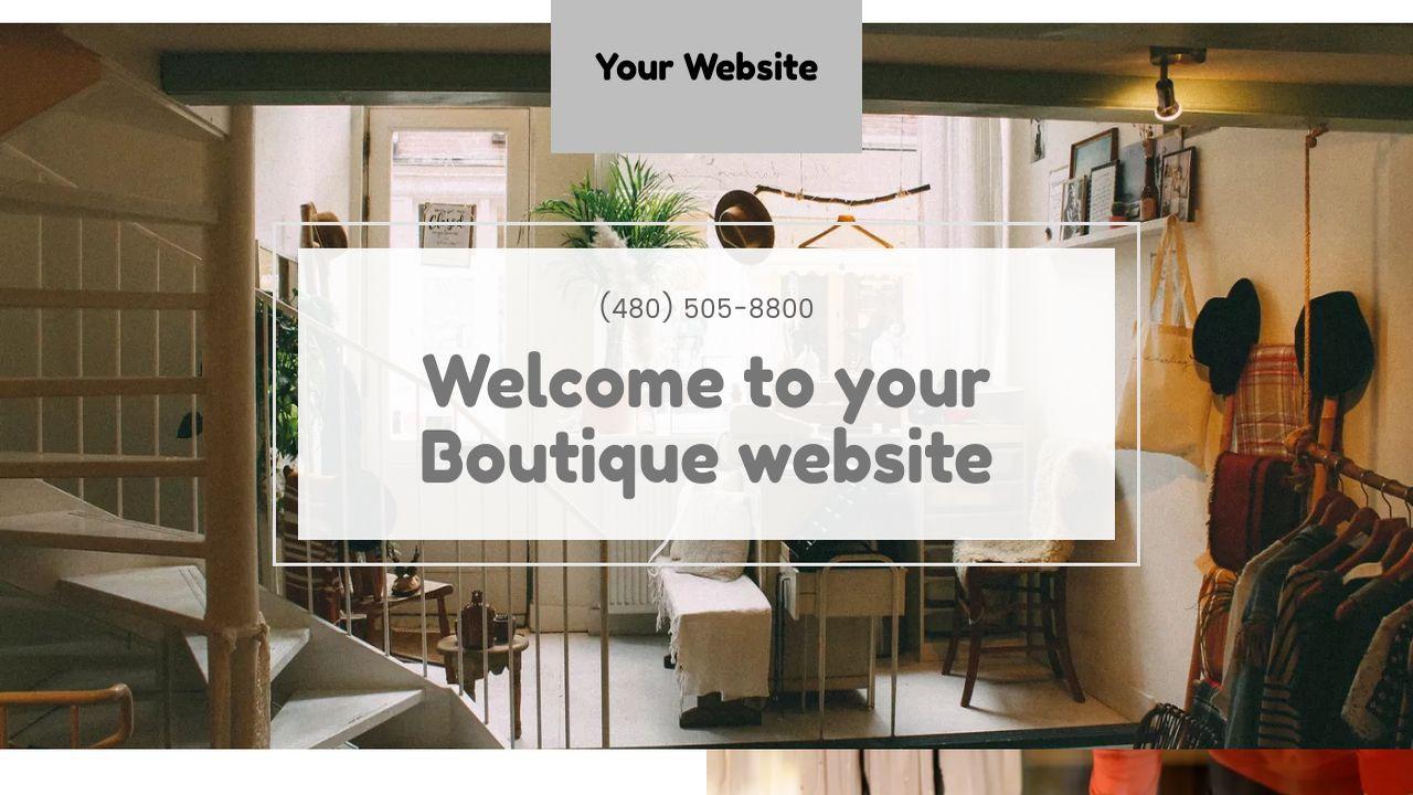 Boutique Website Templates | GoDaddy