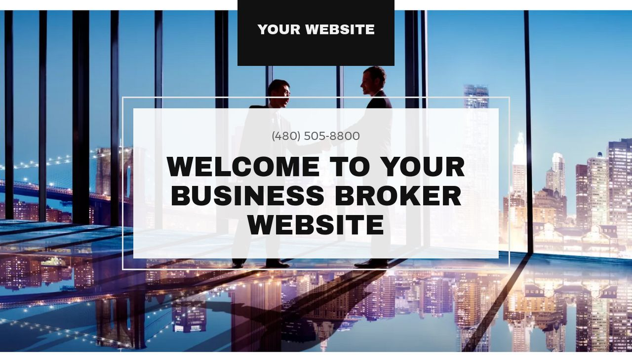 Business Broker Website: Example 1