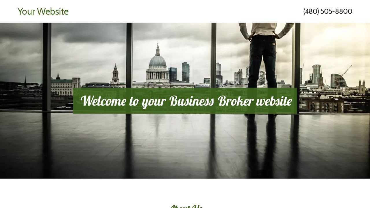 Business Broker Website: Example 12