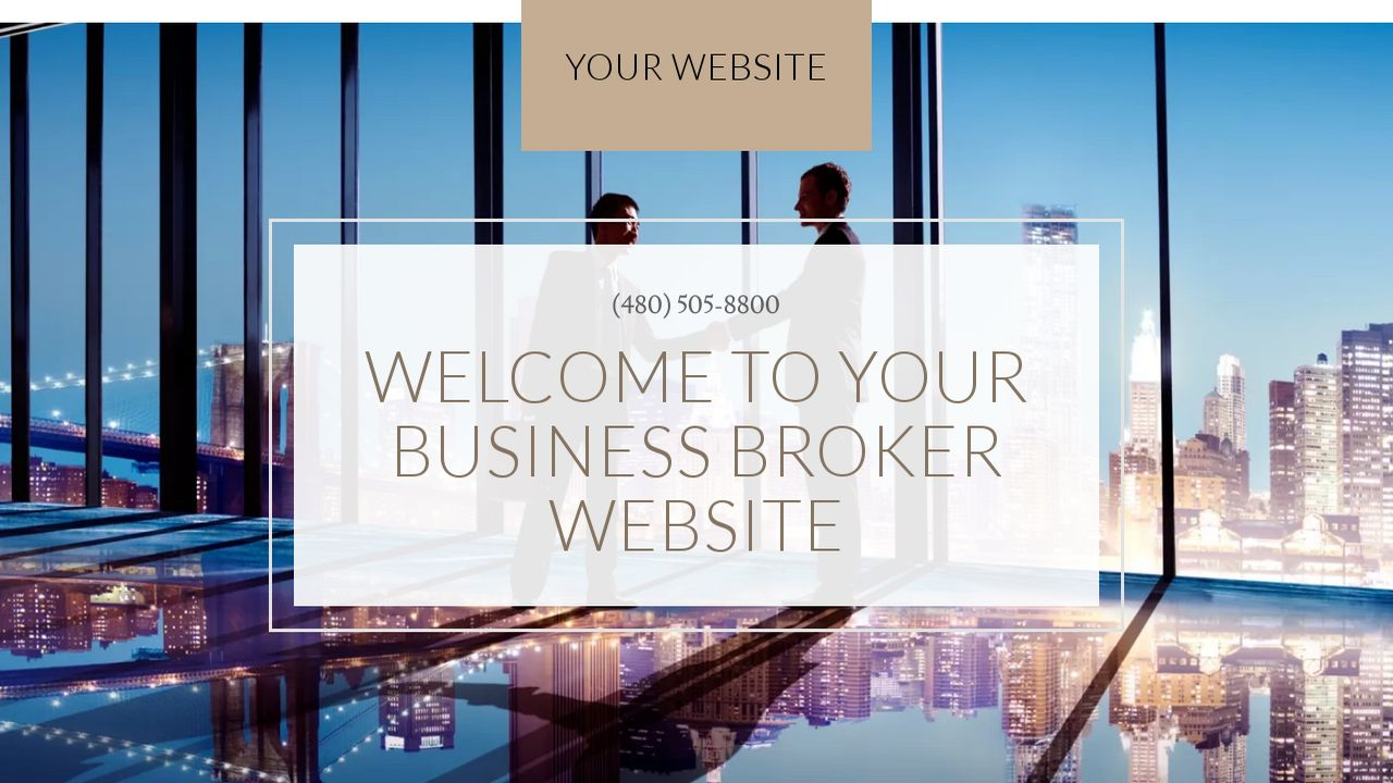 Business Broker Website: Example 15