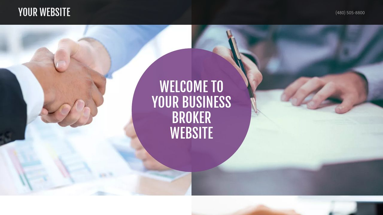 Business Broker Website: Example 18