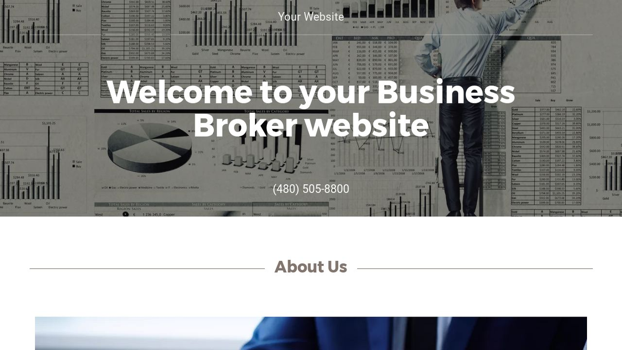 Business Broker Website: Example 2