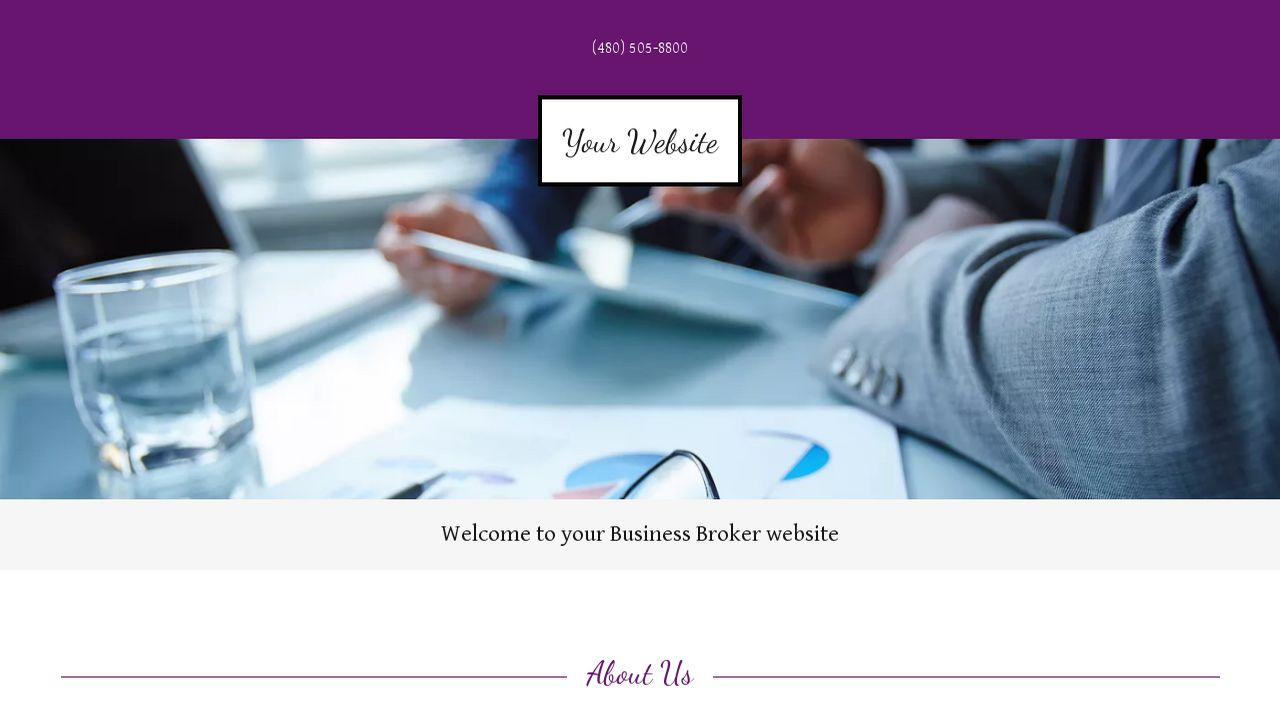 Business Broker Website: Example 7