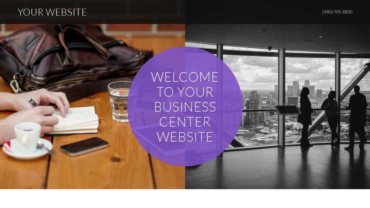 Business Center Website: Example 6